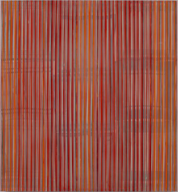 Markus Linnenbrink, 'FASSADE WTC', 2001-2004, Painting, Encaustic on plywood on aluminum frame, Taubert Contemporary