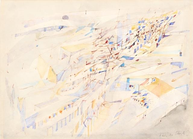 Maria Helena Vieira da Silva, 'Paysage', 1951, Galerie A&R Fleury