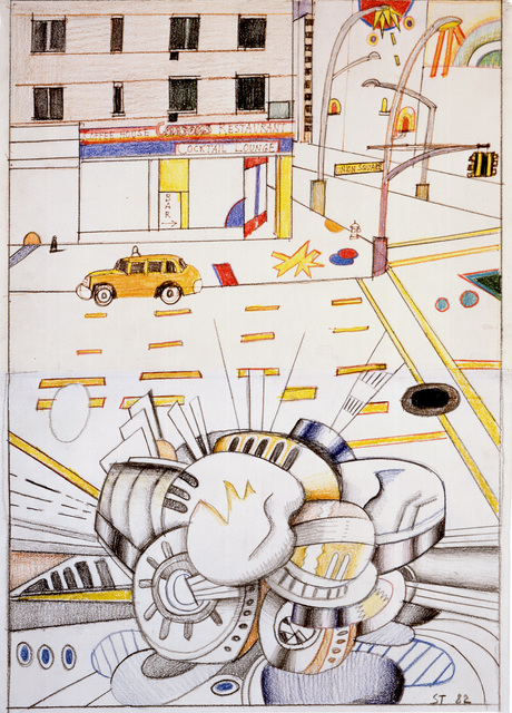 , 'Union Square,' 1982, Pace/MacGill Gallery