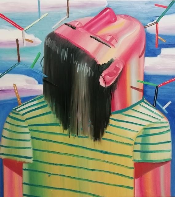 , 'Whistle,' 2018, Art+Text Budapest