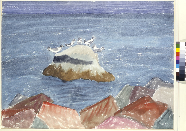 Milton Avery, 'Roosting Birds', ARS/Art Resource