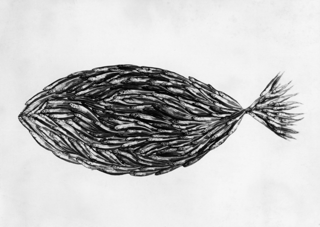 , 'Fish Made of Fish, New York,' 1939, Atlas Gallery