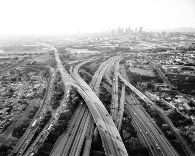 , 'Highways 5, 10, 60 and 101 Looking West, LA River and Downtown Beyond, Los Angeles, CA,' 2004, Danziger Gallery