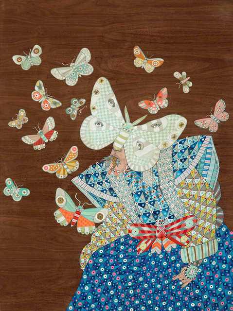, 'Mothman And The Butterflies,' 2019, Hashimoto Contemporary