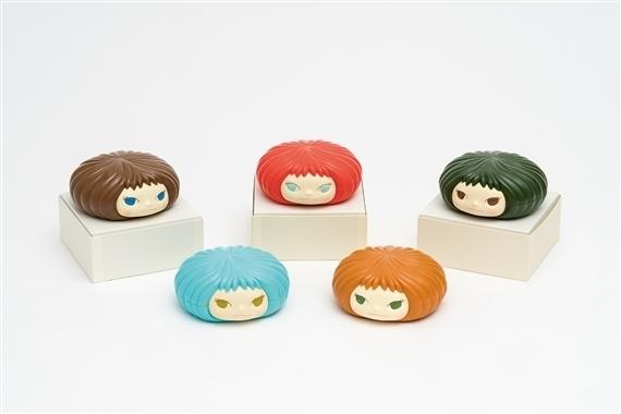 Yoshitomo Nara, 'Gummi Candy Box (5 colors)', 2006, Dope! Gallery Gallery Auction