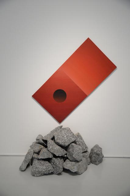, 'Red Cube,' 1986, Yavuz Gallery