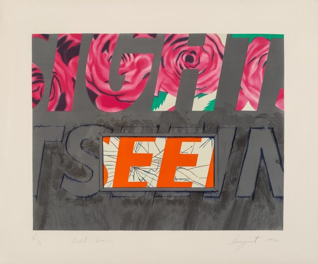 James Rosenquist, 'Sight-Seeing', 1972, Heritage Auctions