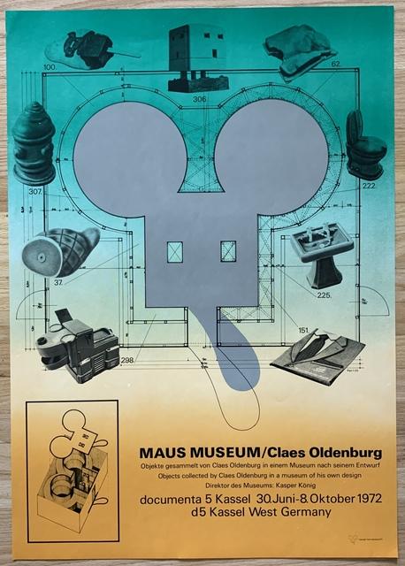 Claes Oldenburg, 'Maus Museum', 1972, Ephemera or Merchandise, Offset lithograph, Kwiat Art