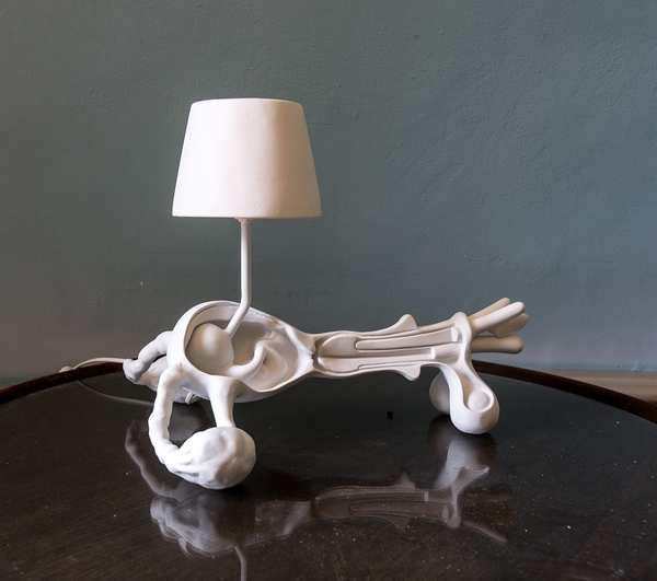 , 'Pappamamma Lamp,' 2009, Galerie Krinzinger