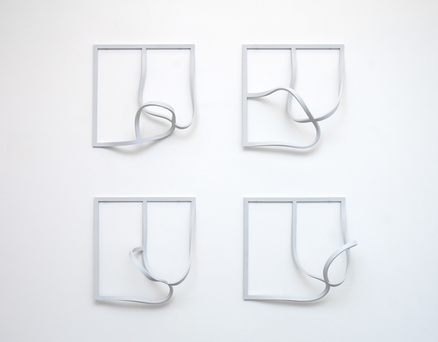 , 'Frames (Echoes) 3,' 1971-1974, Johannes Vogt Gallery