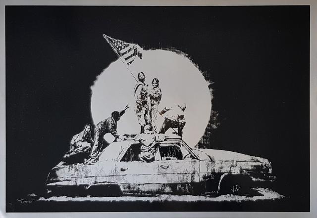 Banksy, 'Flags (Unsigned)', 2008, Gormleys Fine Art