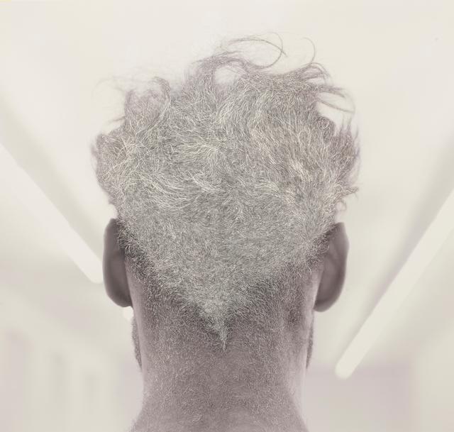 , 'Back of Bernd's head,' 2016, Galerie Krinzinger