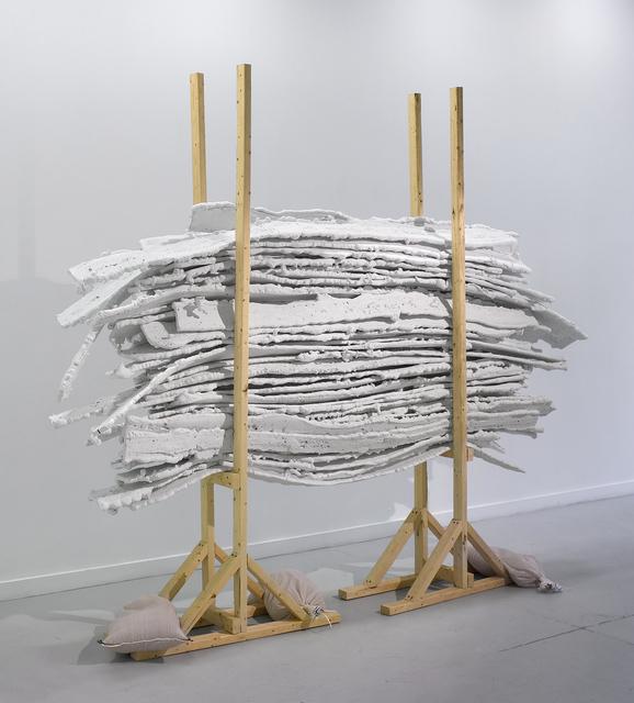Jill Downen, 'Architectural Cartilage on Rack', 2011, Bruno David Gallery