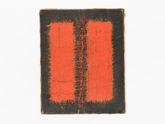 ", '""Dialectique III"" (17) -- Rouge et Noir,' 1969, Patrick Parrish Gallery"