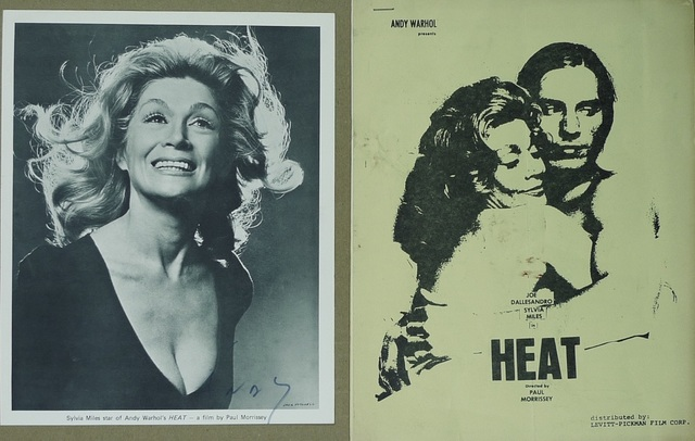 Andy Warhol, 'HEAT', 1972, Ephemera or Merchandise, Paper, Bengtsson Fine Art