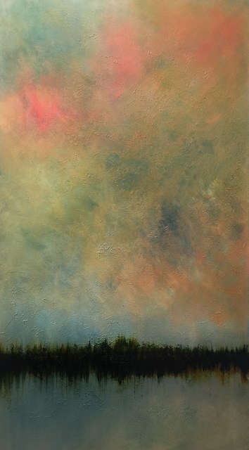 , 'The Late Flourish of Day (Across the Lake),' 2015, Tanya Baxter Contemporary