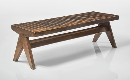 Bench Designed for the M.L.A. Hostel, Chandigarh, India