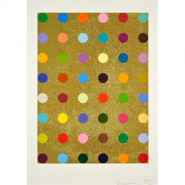 Damien Hirst, 'Aurous Iodide (with gold glitter)', 2009, Vogtle Contemporary