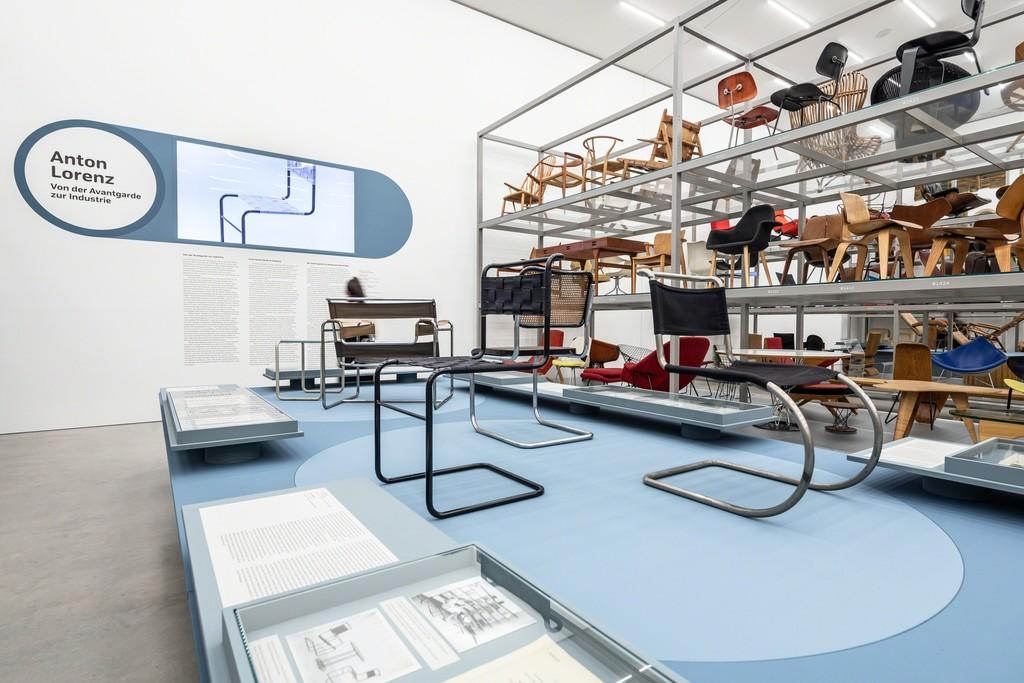Installation view »Anton Lorenz: From Avant-Garde to Industry« © Vitra Design Museum, photo: Bettina Matthiessen
