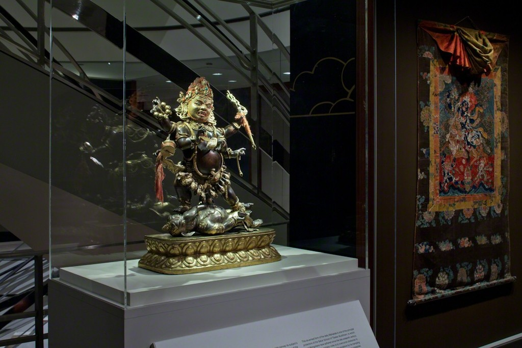 Installation shot of Masterworks of Himalayan Art. Image Credits: Rubin Museum of Art