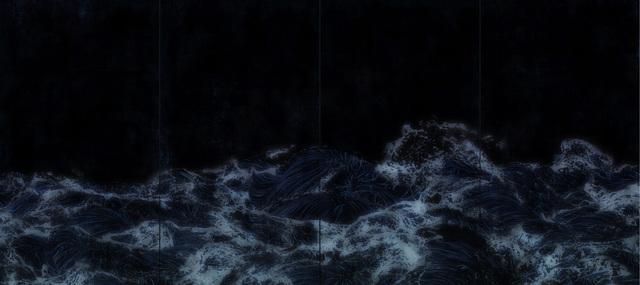 , 'Dark Waves,' 2016, Pace Gallery