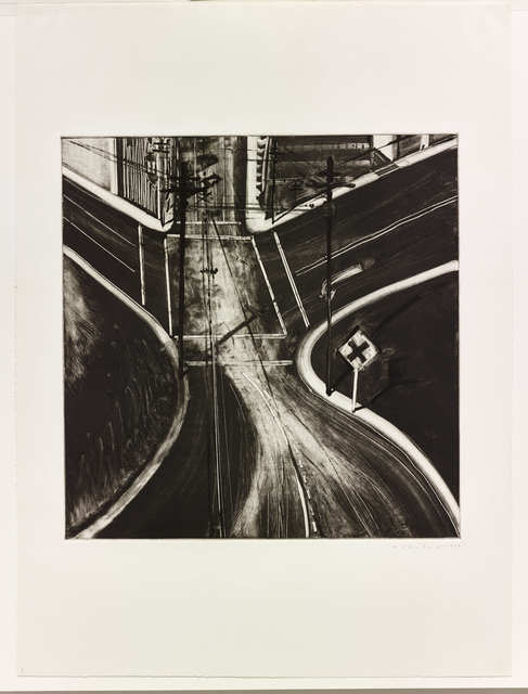 , 'Untitled (Intersection),' 1977, Paul Thiebaud Gallery