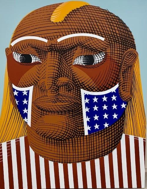 Nunca, 'Iu Esse Ei', 2019, Painting, Mixed media on canvas., Kogan Amaro