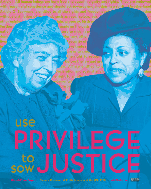 , 'Use Privilege to Sow Justice,' , Zenith Gallery