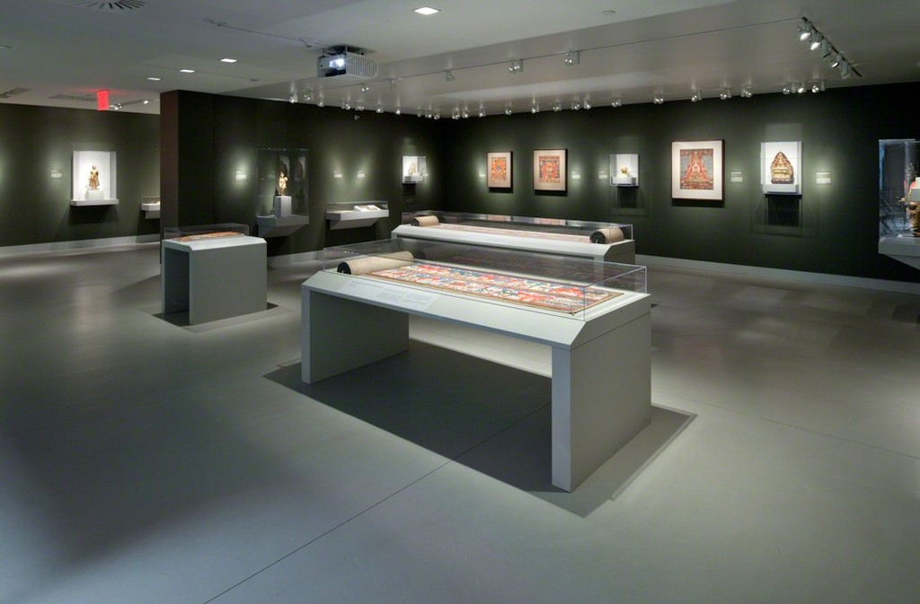 Installation shot of Gateway to Himalayan Art. Image Credits: Rubin Museum of Art