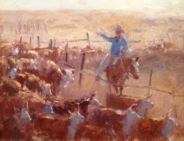 Gordon Fowler, 'Roundup', 2013, Wally Workman Gallery