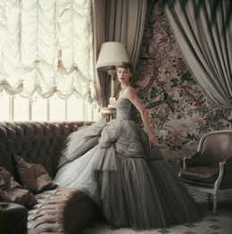 Mark Shaw, 'Sophie Malgat Wears Dior in Dior's Passy Home, Paris,', 1953, Jackson Fine Art
