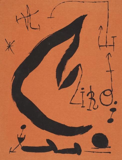 Joan Miró, 'Les Essències de la terra (C. Bks. 123)', 1968, Sotheby's