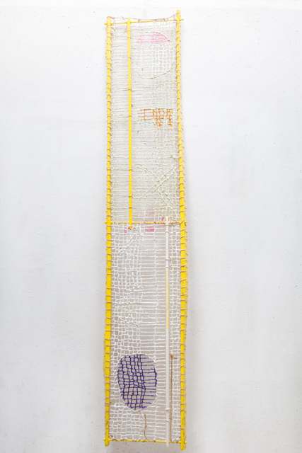 , 'Time Capsule Yellow Two Stand,' 2019, White Pearl Gallery