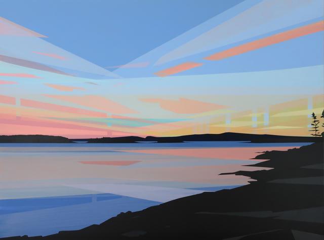 , 'Sunset, Grindstone Point,' 2019, Octavia Art Gallery