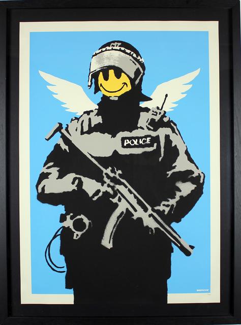 Banksy, 'Flying Copper', 2004, Gormleys Fine Art
