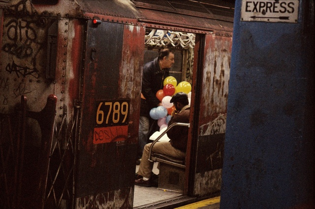 , 'Balloons in the subway, New York,' 1984, GALLERY FIFTY ONE