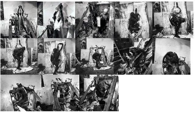 , 'Selbstverstrickung/selfentanglement,' 1965, Richard Saltoun
