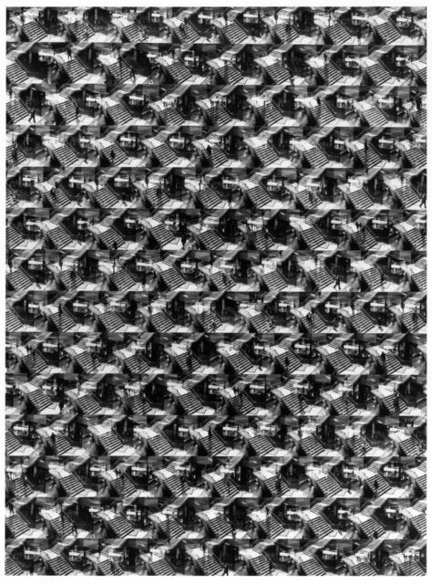 Ray K. Metzker, 'A Maze in Philadelphia', 1966/1984, Laurence Miller Gallery