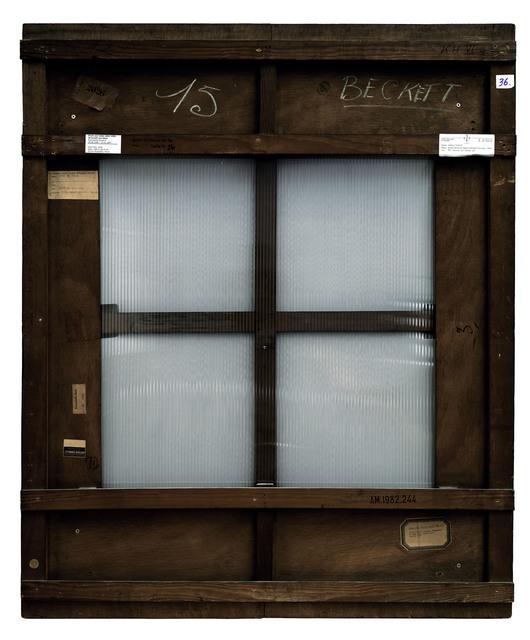 , 'Verso n°17, Sans titre, par Bram van Velde, collection Centre Pompidou, Paris,' 2007, Modernism Inc.