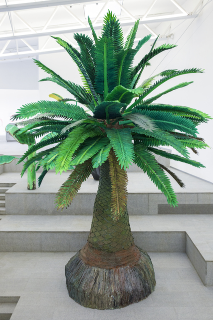, 'Tropical Composition/Canary Island Palm No. 2,' 2016-2017, Sifang Art Museum
