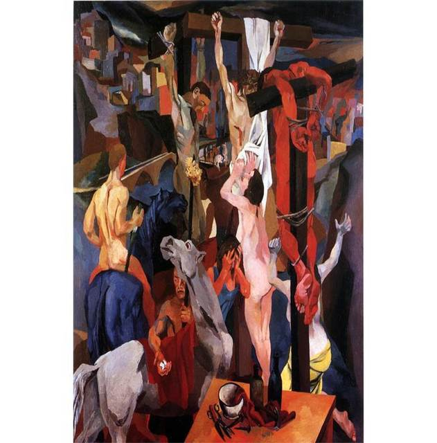 , 'Crucifixion,' 1941, Centre for Fine Arts (BOZAR)