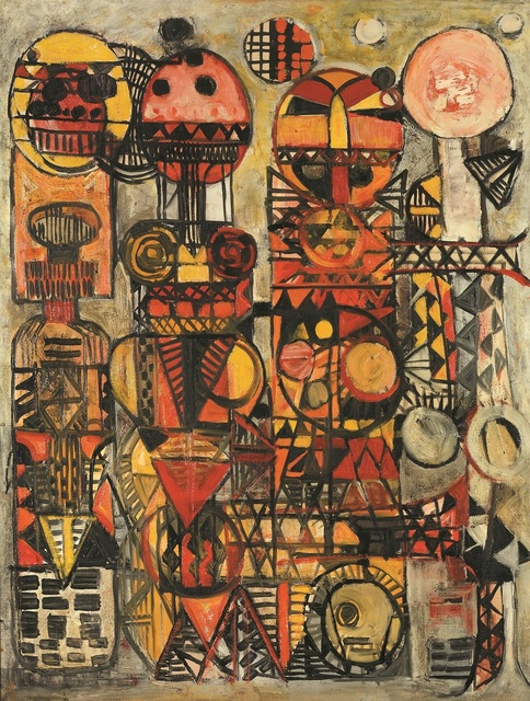 , 'Moon in the Pink,' 1960, Dag Modern