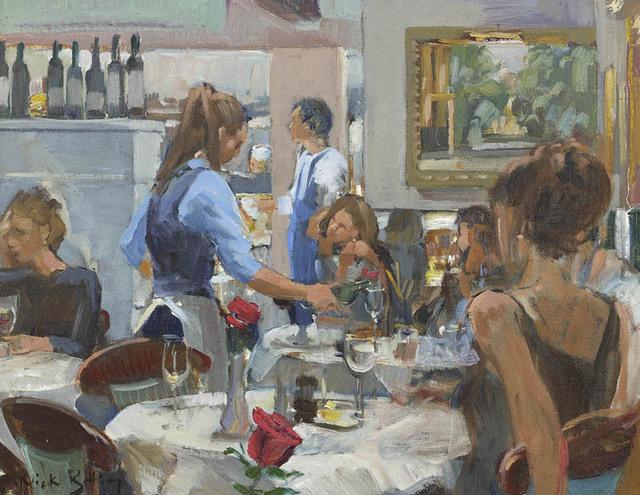 , 'Motcombs Lunch,' 2017, Portland Gallery