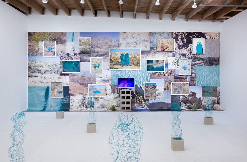 Talia Shipman 'Meet Me in the Middle', installation shot. Photo: Ruben Diaz