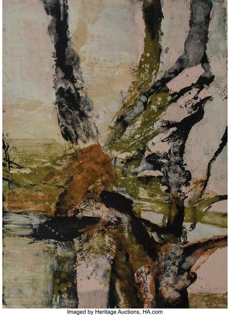 Zao Wou-Ki 趙無極, 'Tree of Life, from Official Arts Portfolio of the XXIVth Olympiad, Seoul, Korea', 1988, Heritage Auctions