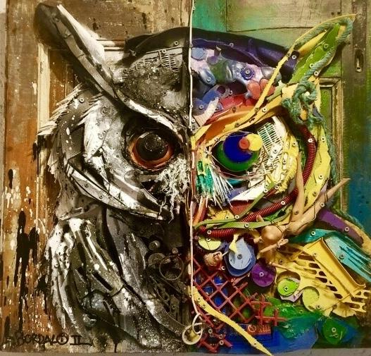 , 'Half Owl,' 2017, GGA GALLERY