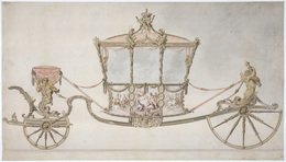 , 'Design for the State Coach,' 1760, Royal Collection Trust