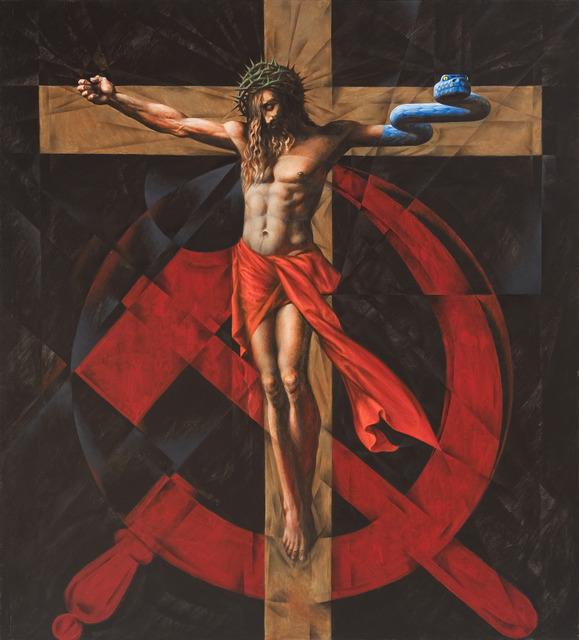 Vitaly Komar, 'Cross and Sickle', 2007-2009, Ronald Feldman Gallery