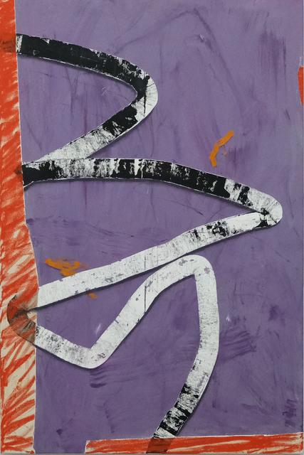 Taylor O. Thomas, 'A sidewalk and a shadow', 2018, Deli Grocery