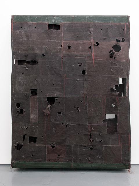 , 'Flat Painting Bodfari 15 Caput Mortuum,' 2015, FOLD Gallery